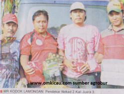 Mr Kodok Lamongan- Pendekar Nekad 2 Kali Juara 3 di Lomba Burung Piala HB X