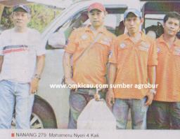 Nanang 279 - Mahameru Nyeri 4 Kali di Lomba Burung Piala HB X