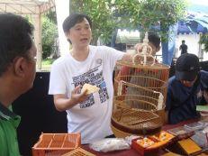 Penjelasan Om Albinobird Antikbird di Munas 1 Plecimania Indonesia Jogja