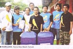 Rori-Liki dan Rama Mas - Masih terbaik di KMYK Cup I