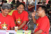 Tawa sumringah di Munas I Plecimania Indonesia di Jogja