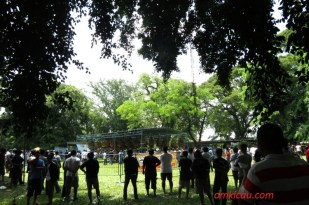 Asyiknya lomba burung di Taman Balekambang Solo (7)