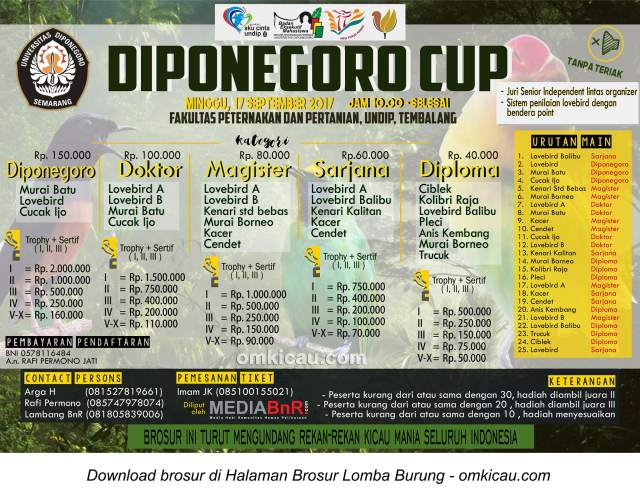diponegoro cup