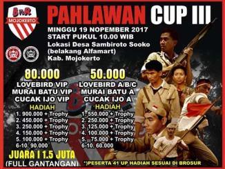 Pahlawan Cup III BnR Mojokerto