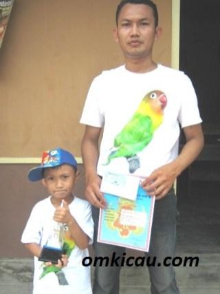 ROFIQ MAGELANG -JUARA 1&2 LOVEBIRD