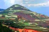 Tanah merah di Kunming membentuk mosaik indah ketika dikombinasi dengan tanaman aneka warna (4)
