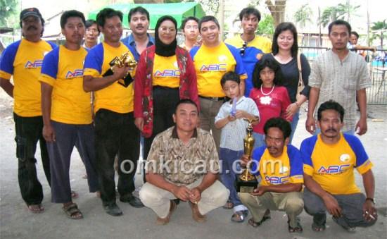 Foto bersama ABC Team beberapa tahun lalu.