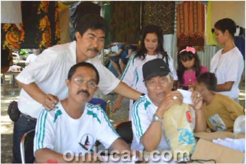 Ketua Kancil BC H Thamrin (kanan)
