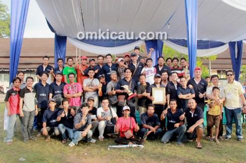 Jambi Team juara umum