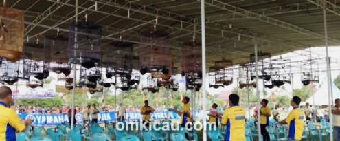 Sesi murai batu Final Liga Sumatera