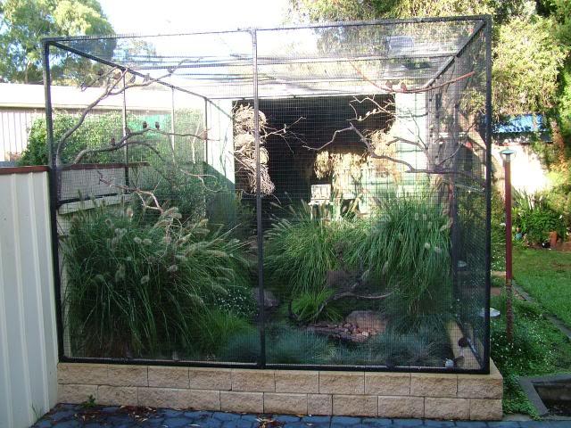 Habitat aviary