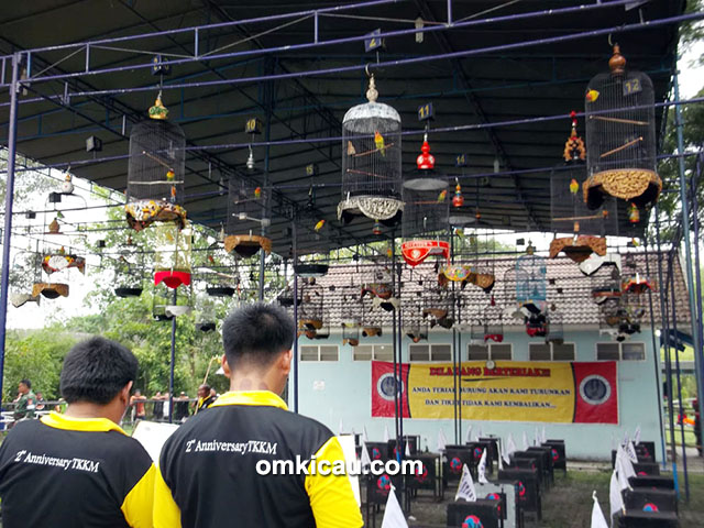 Lomba Burung Berkicau 2nd Anniversary TKKM Jogja