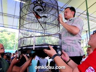Lomba burung berkicau Wali Kota Cup Bogor