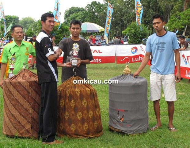 Troopz Indo Cup Jambi - Juara murai batu