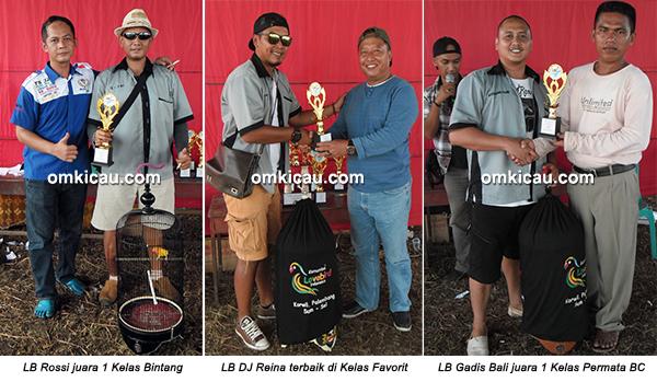 Permata BC Ogan Ilir - juara lovebird