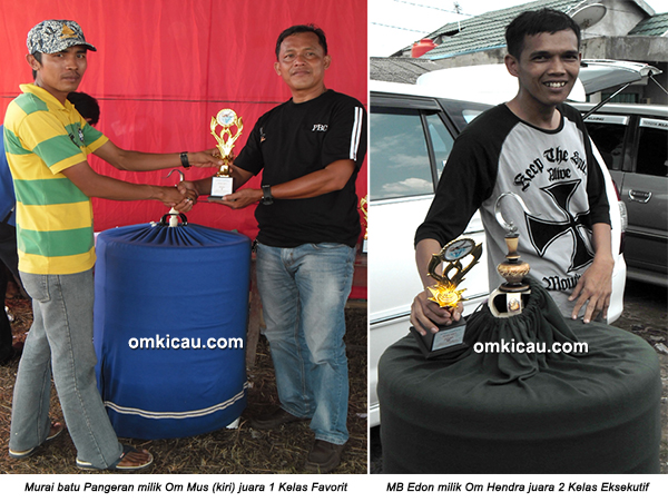 Permata BC Ogan Ilir - juara murai batu