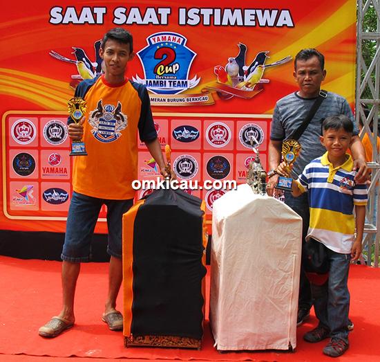 Yamaha Cup 2 Jambi-juara kacer