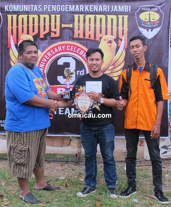 PCMI juara umum komunitas