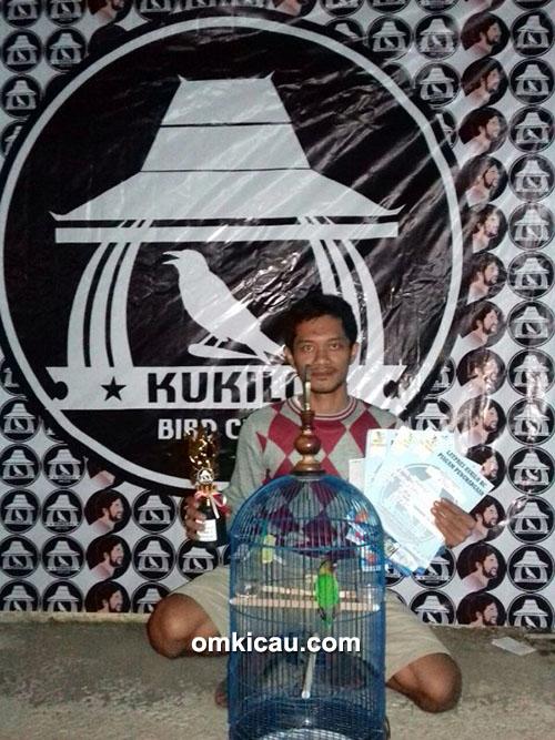 Lovebird Pinoi milik Om Putra (ARK SF)