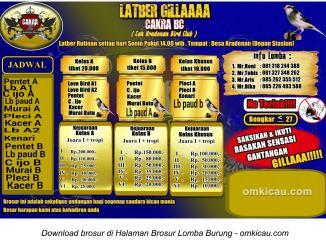 Latber Gillaaaa Cakra BC