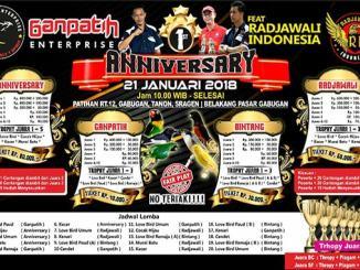 1st Anniversary Ganpatih Enterprise