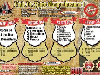 Piala dr Tjipto Mangunkusumo 1