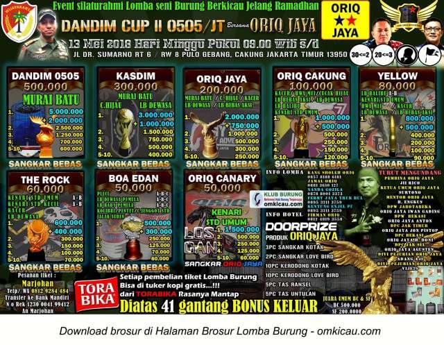 Dandim Cup II 0505 / JT