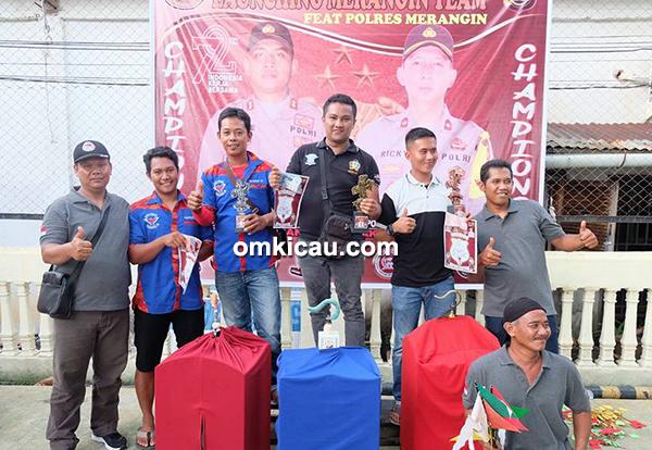 Launching Merangin Team