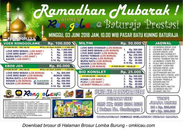 Latpres Ramadhan Mubarak
