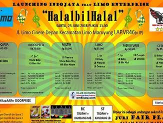 Launching Indojaya feat Limo Enterprise
