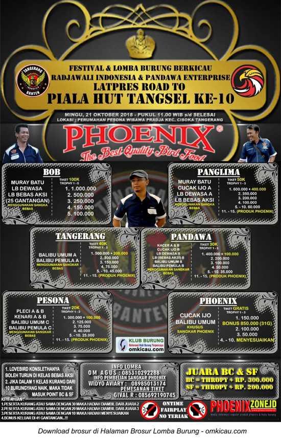 Road to Piala HUT Ke-10 Tangsel
