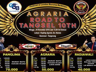 Agraria Road to Tangsel 10 Tahun