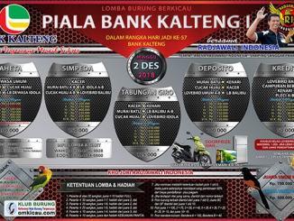 Piala Bank Kalteng I