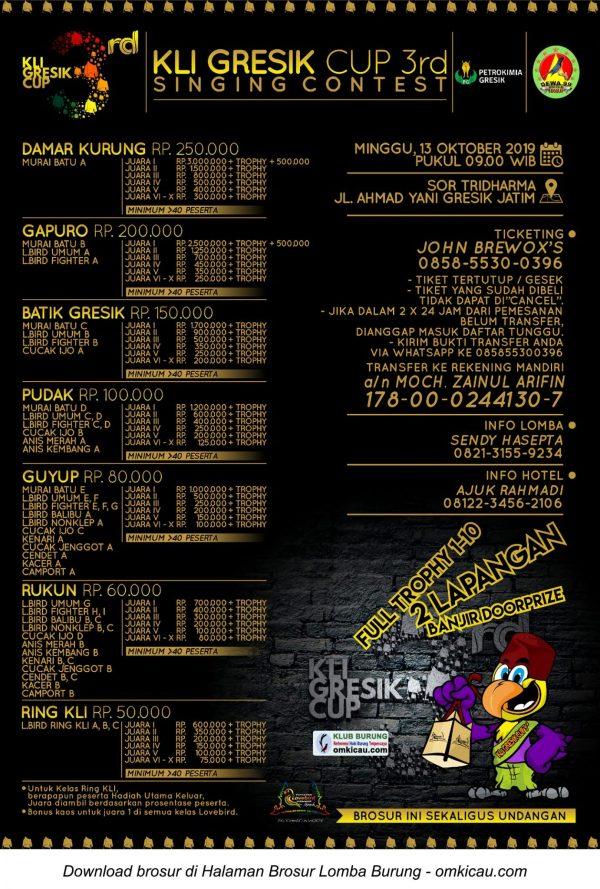 3rd KLI Gresik Cup