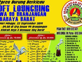 Soft Launching Dewa 99 Branjangan