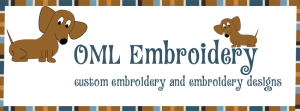 OML Embroidery logo