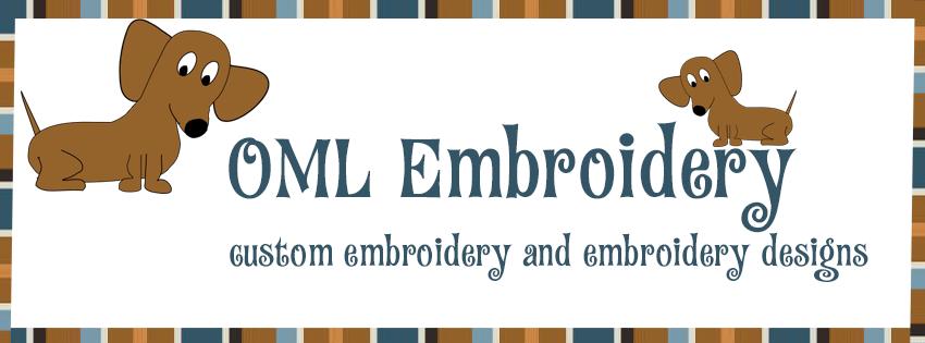 OML Embroidery logo