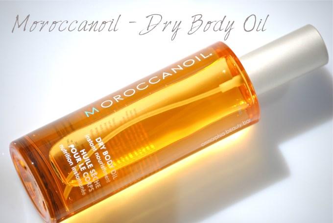 Moroccanoil Dry Body Oil opener
