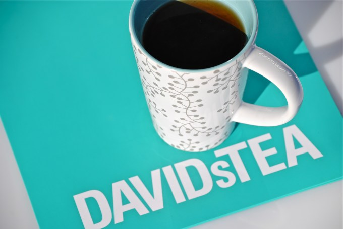 David's Tea Holiday Perfect Mug & tea