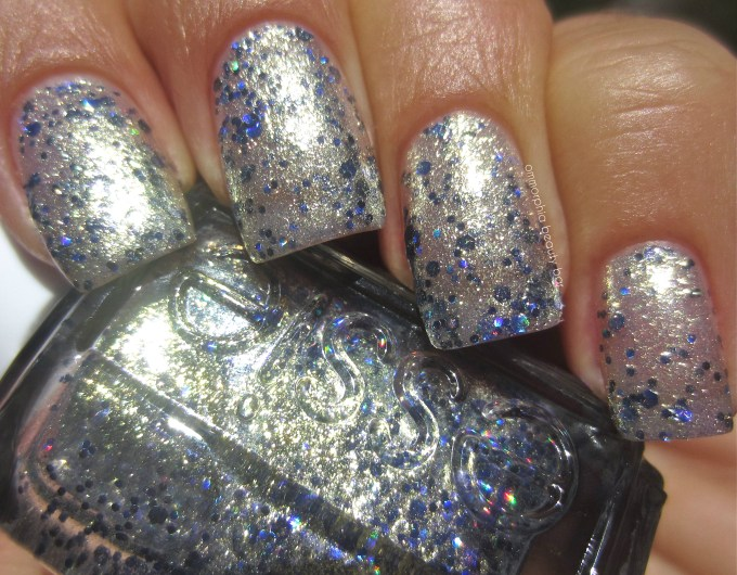 Essie On A Silver Platter swatch 2