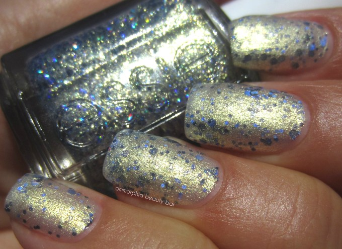 Essie On A Silver Platter swatch 5