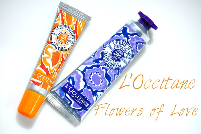 L'Occitane Flowers of Love opener