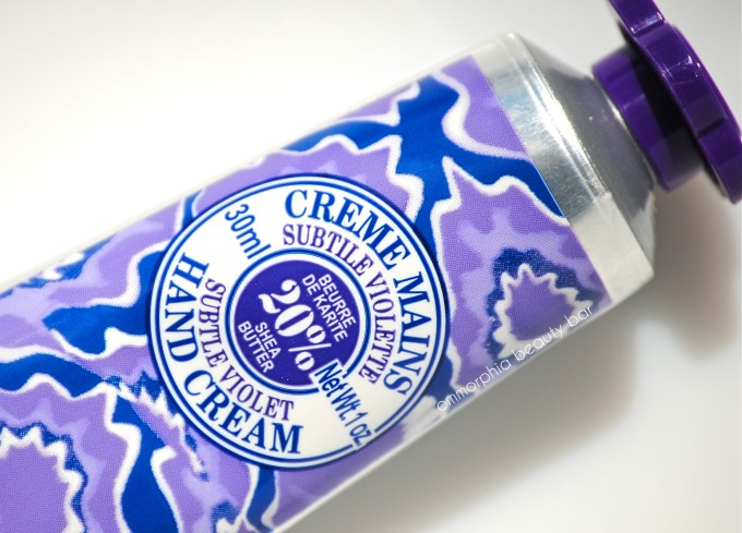 L'Occitane Subtle Violet Hand Cream 2