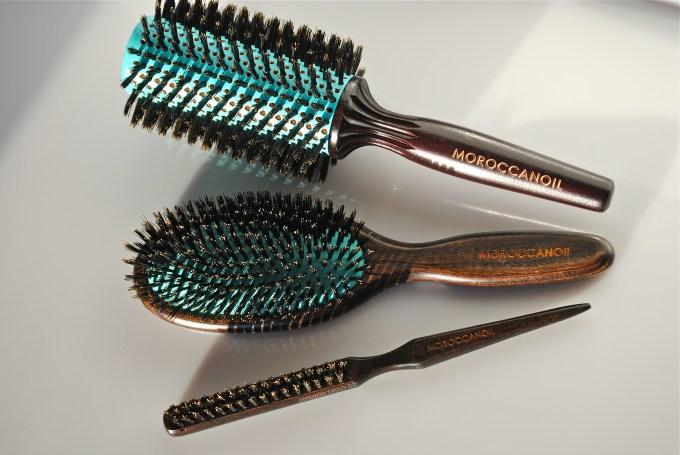 Moroccanoil hair brushes