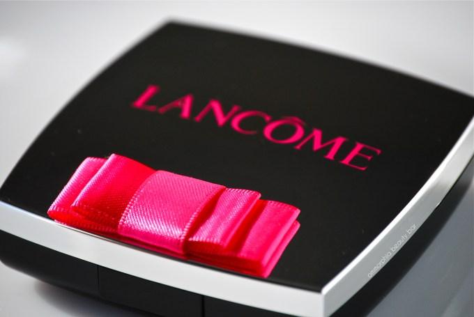 Lancome Rose Ballerine bow