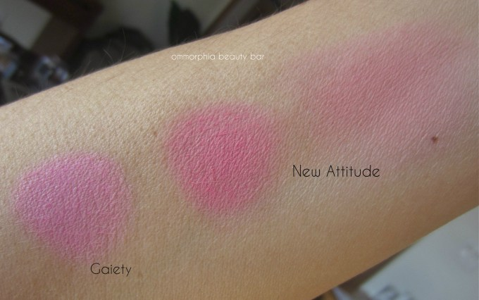 NARS New Attitude & Gaiety swatches