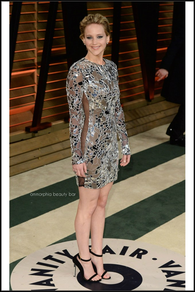 Jennifer Lawrence in Tom Ford after party