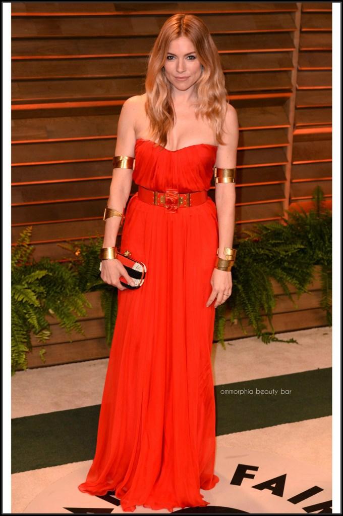 Sienna Miller in Alexander McQueen after party
