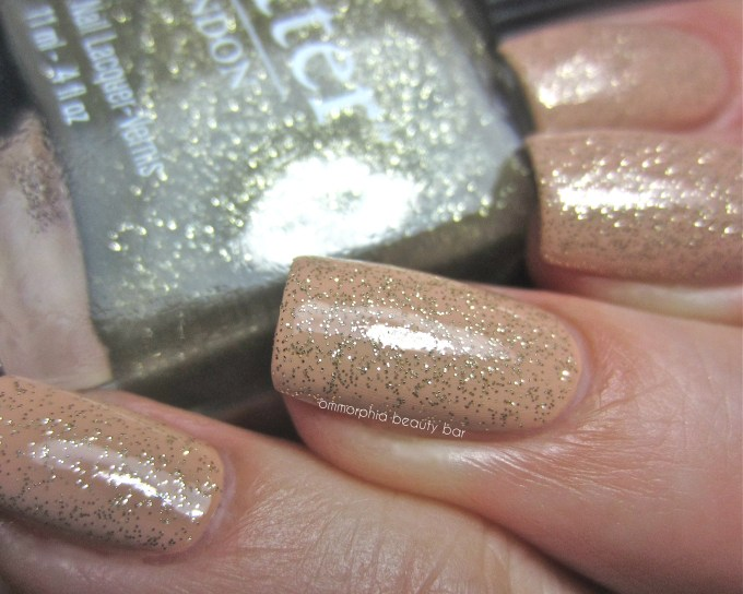 Butter London Lushington over Trallop swatch