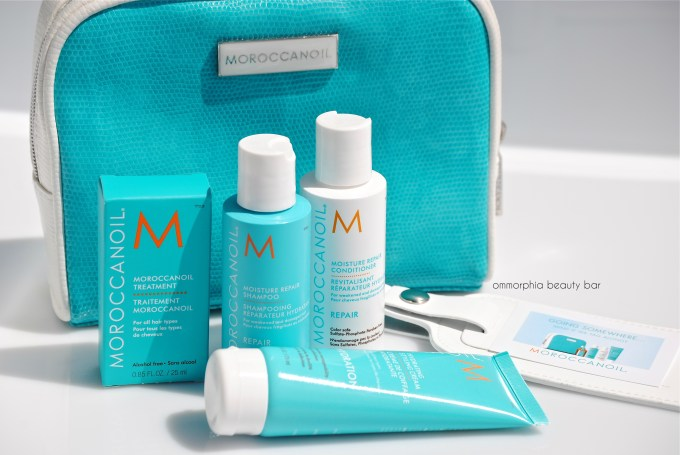 Moroccanoil Travel Kit & luggage tag 3